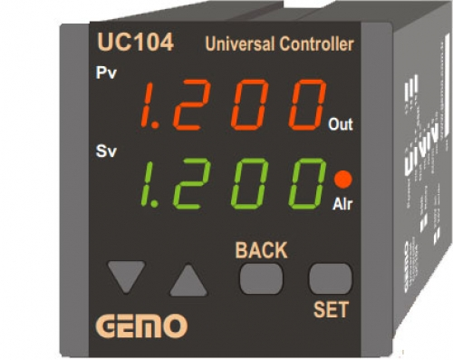 GEMO UC104 UNIVERSAL CONTROLLER