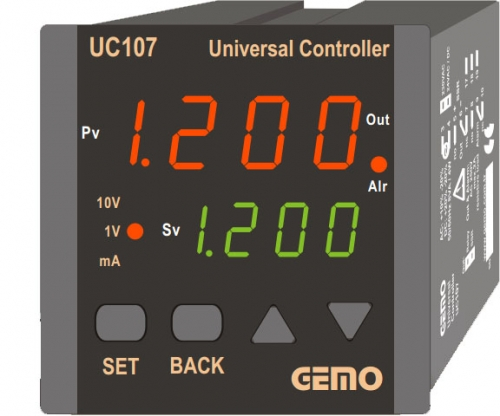 GEMO UC107 UNIVERSAL CONTROLLER